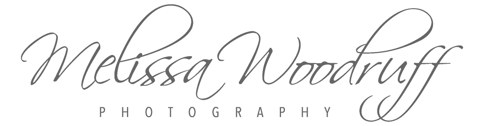 Melissa Woodruff Photography Logo